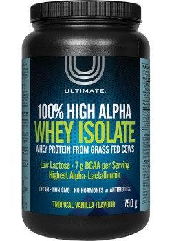 100% High Alpha Whey Isolate (750g)