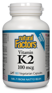 Vitamin K2 100mcg - Natural Factors