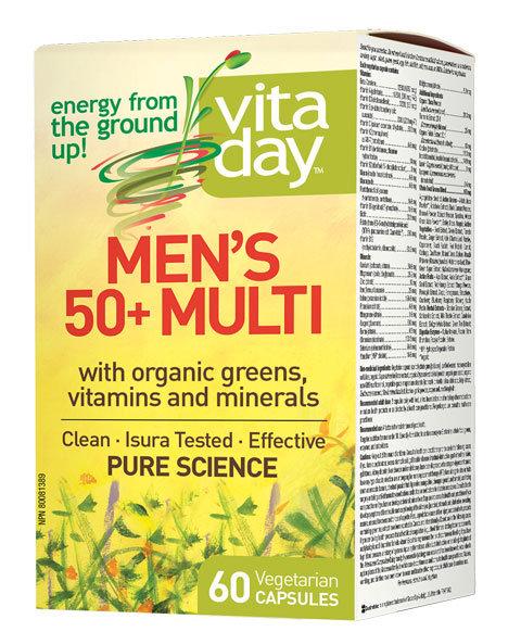 Multivitamin - Men's 50+ - Vita Day