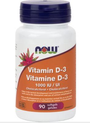 Vitamin D-3 - NOW Foods