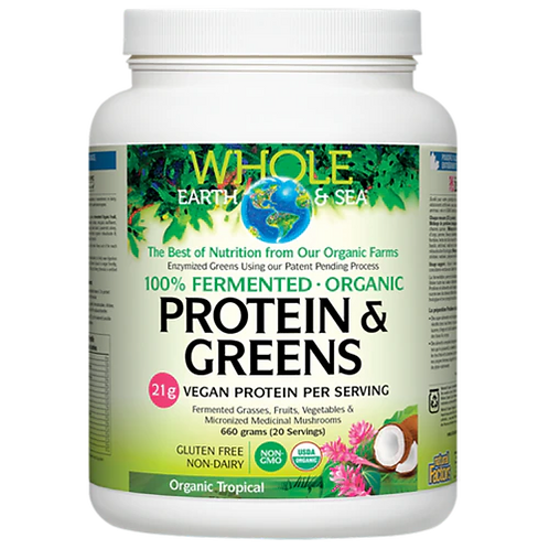 Protein and Greens