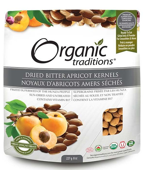 Dried Bitter Apricot Kernels - Organic Traditions