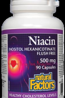 Niacin - Inositol Hexanicotinate Flush Free - Natural Factors