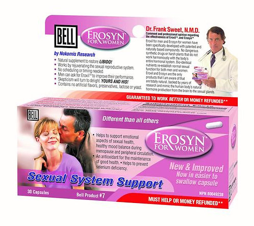 Erosyn for Women - Bell Lifestyle Products