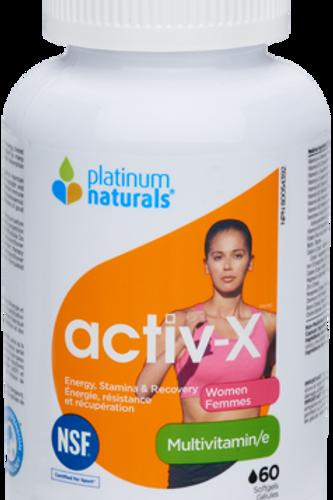 Multivitamin - Activ-x for Women - Platinum Naturals
