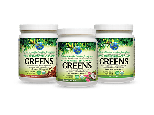Fermented Organic Greens - Whole Earth & Sea™