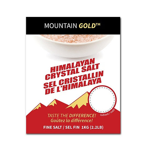 Mountain Gold Himalayan Crystal Salt