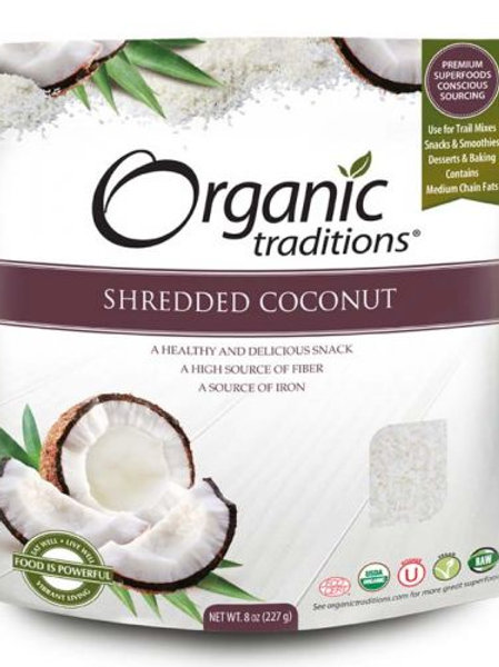 Shredded Coconut - Organic Traditions