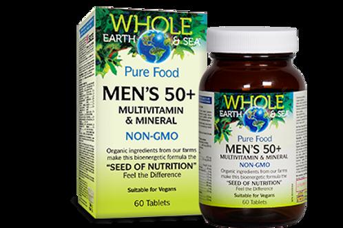 Multivitamin - Men 50+ - Whole Earth & Sea