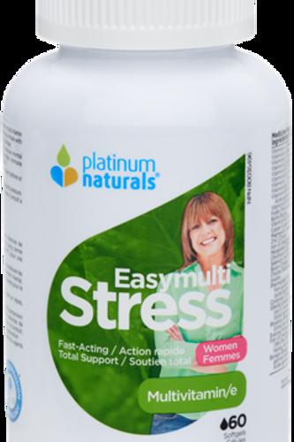 Multivitamin - Easymulti Stress Womens - Platinum Naturals