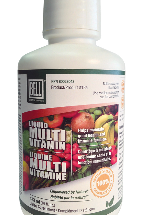 Liquid Multivitamin - Bell Lifestyle Products