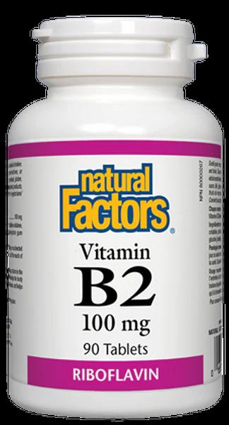 Vitamin B2 - Natural Factors