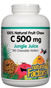 Vitamin C - Chewable - Children's - 500mg - Natural Factors