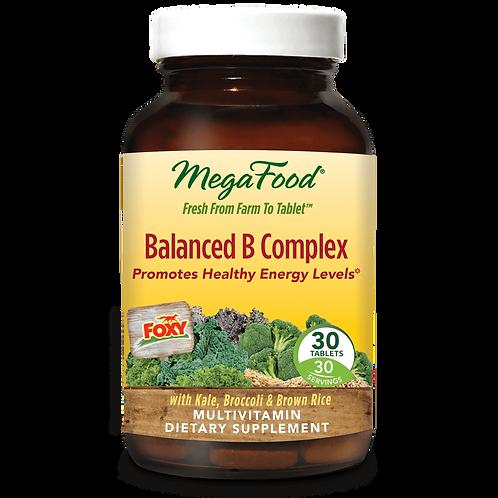 Vitamin B - Balanced B Complex - Mega Food