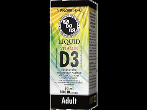 Liquid Vitamin D3 - AOR - Adult Formula