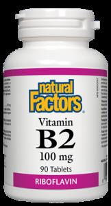 Vitamin B2 - 100mg - Natural Factors