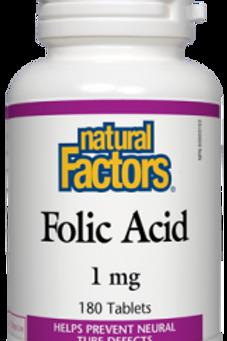 Folic Acid - Natural Factors