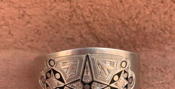 925-er Silber Armreifen aus Mauretanien