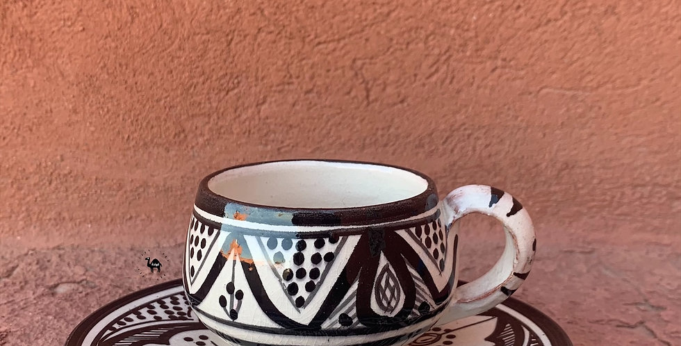 Safi Kaffeetasse mit Unterteller