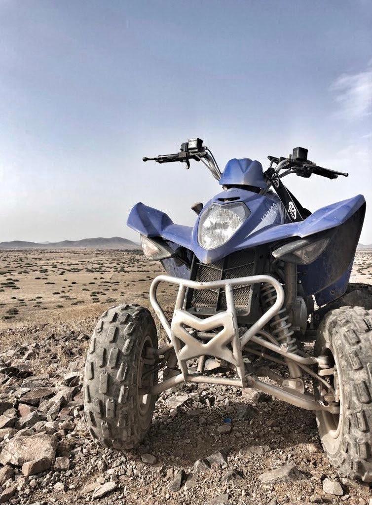 Quad Fahren in Marrakesch
