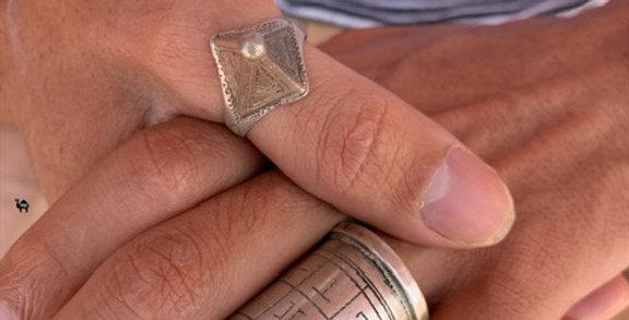 925-er Silber Tuareg Ring