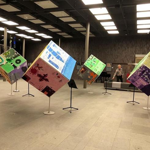 Kunst Poject op meerdere scholen