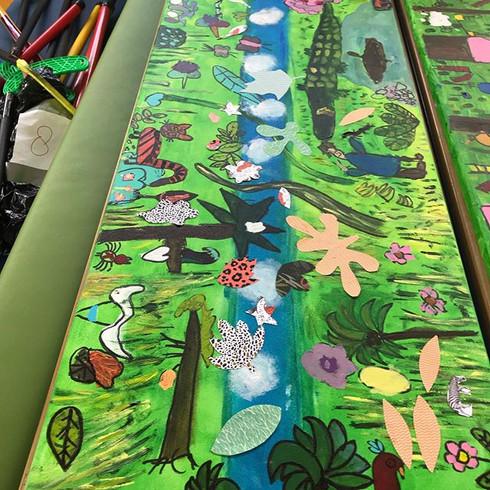 Creatief project op school