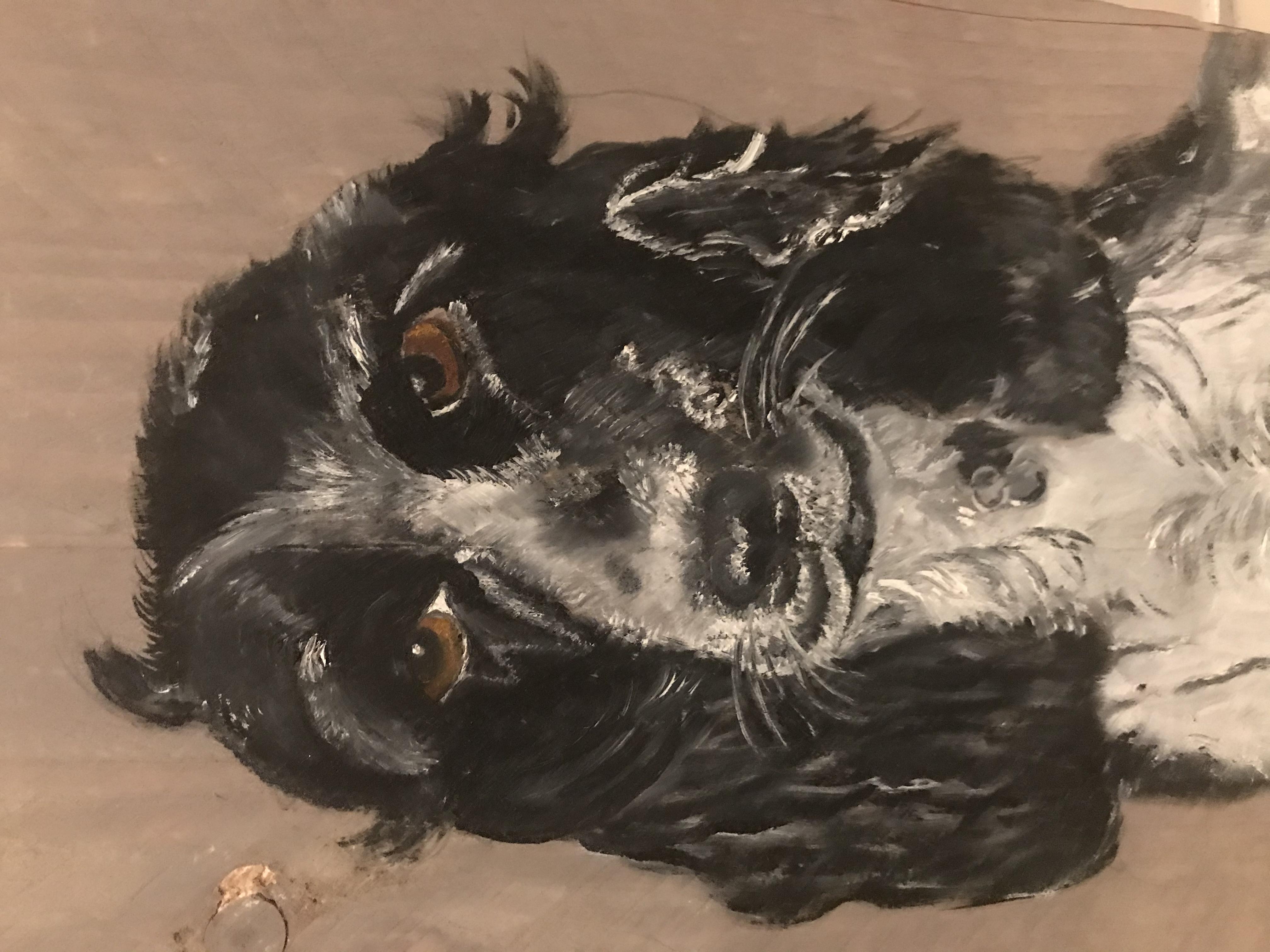 Portretje eigen hond