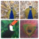 Eindwerkstuk in thema Vogels van de 11+