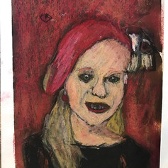 Portret op de manier van Rembrandt