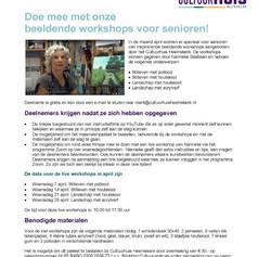 Online cursus Cultuurhuis Heemskerk