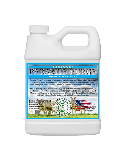 Parasite Purge Organic Liquid Concentrate (32oz)