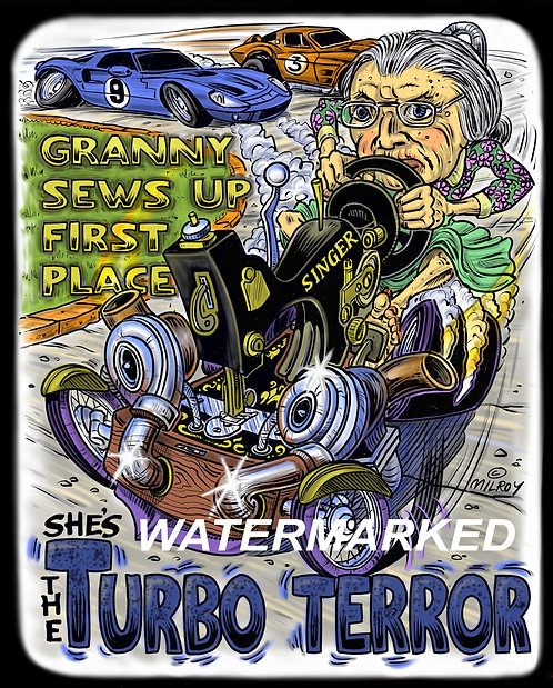 The Turbo Terror T-shirt