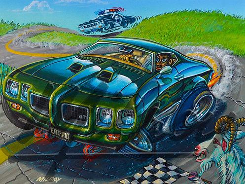 Green '70 GTO Print