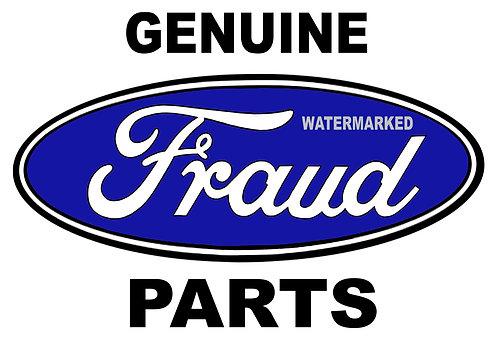 Genuine Fraud Parts