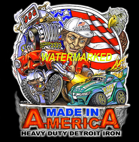 Made in America Detroit Iron