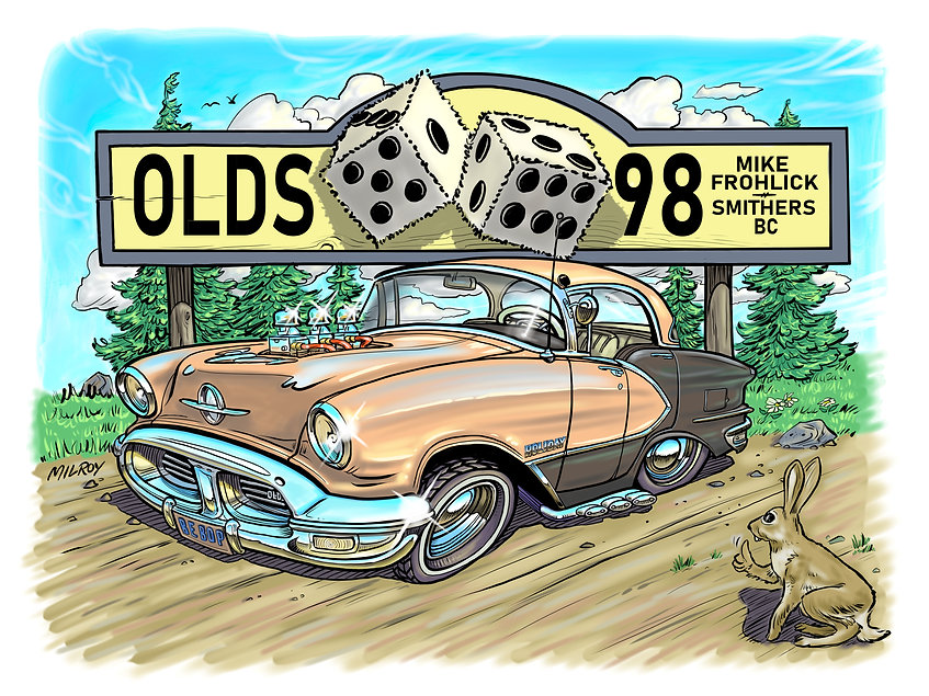car caricature olds 98 mike frohlick.jpg