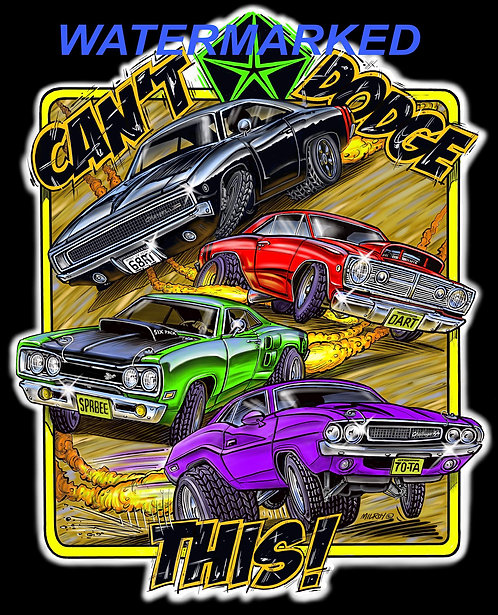 Can't Dodge This! T-shirt.