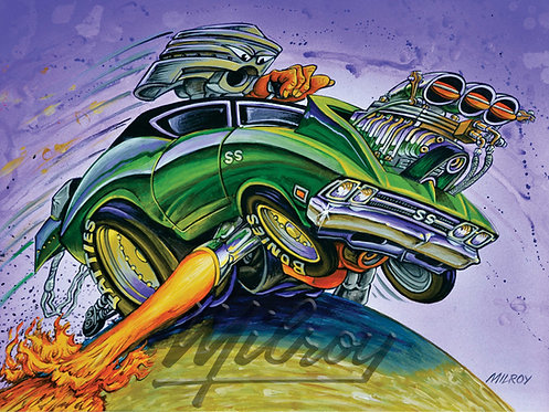 Pistonhead '69 Chevelle Print