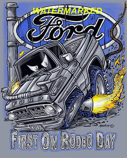 First on Rodeo Day Shirt