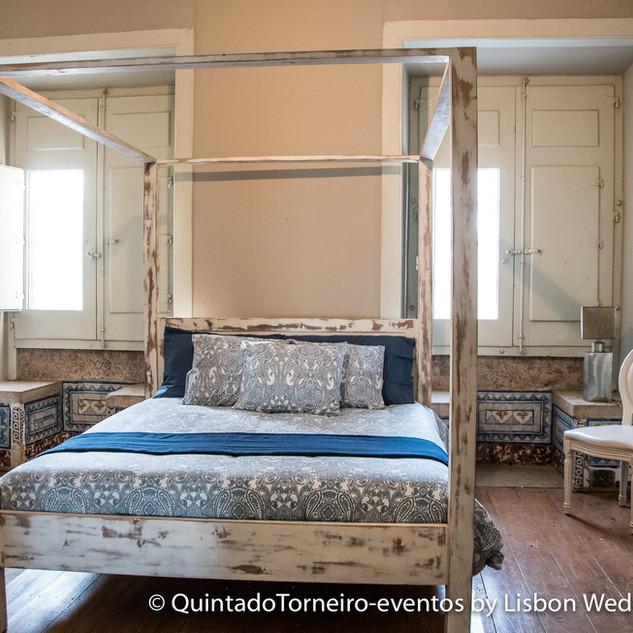 Slaapkamers van Quinta do Torneiro.