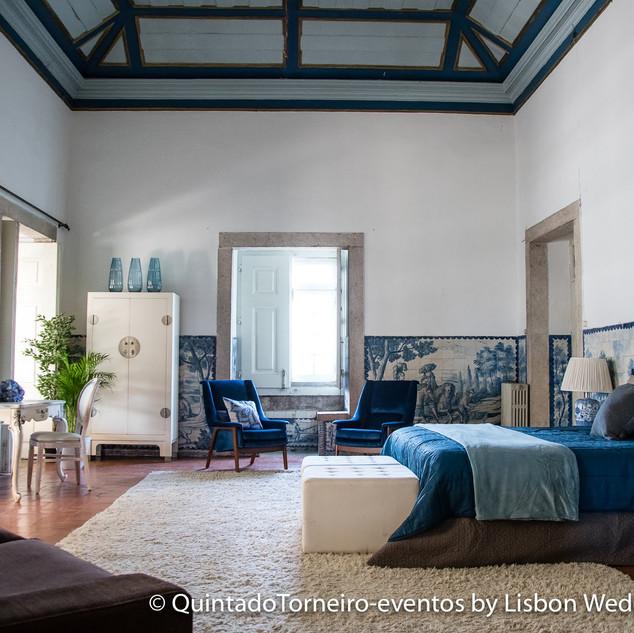 Slaapkamers van Quinta do Torneiro. Master Suite.