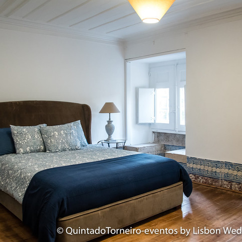 Bedrooms of Quinta do Torneiro in Lisbon, Portugal
