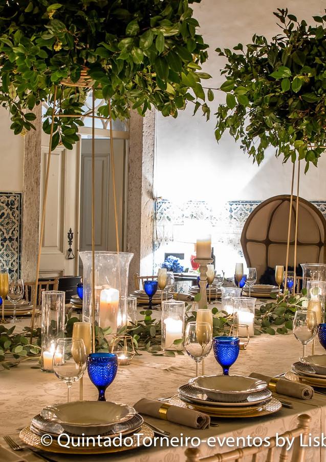 Fireplace Kamer voor uw destination wedding bij Quinta do Torneiro, in Lissabon, Portugal.