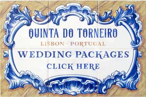 O conjunto de pacotes de casamento que o espaço Quinta do Torneiro oferece em Lisboa Portugal