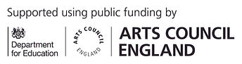 Arts Council DFE logo