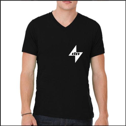 Black DigiNinja Star Logo with writing on back