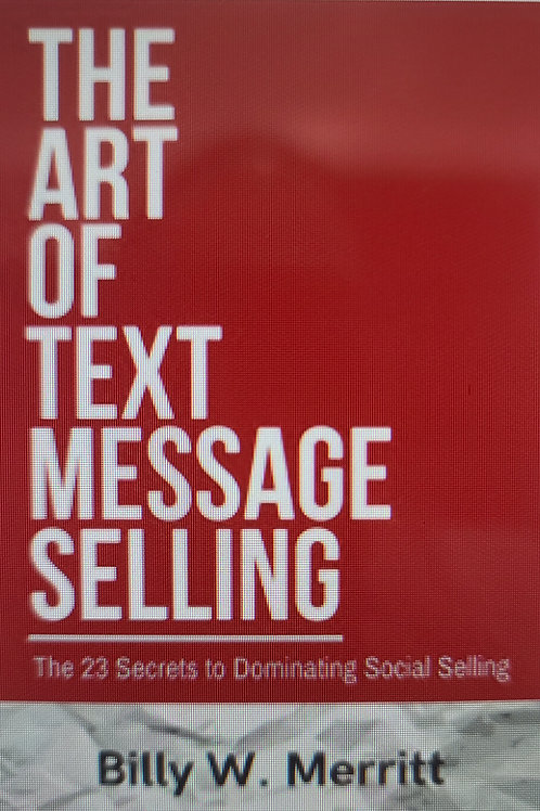 The Art of Text Message Selling