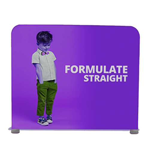 Formulate Straight - 2.4m, 3m or 6m Width - Graphics Included