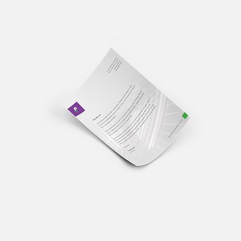 Letterheads - A4